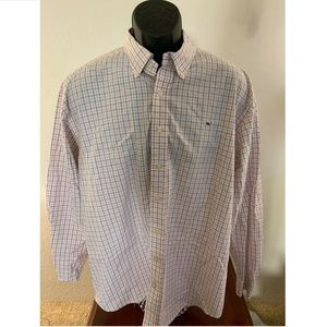 Vineyard Vines Mens Button Up Whale Shirt XL EUC